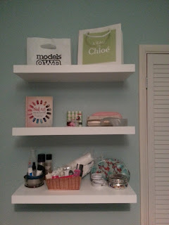 floating-shelves-nail-room