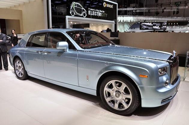 Rolls Royce 102EX Front View Image