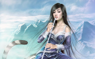 3d girls wallpapers 2013