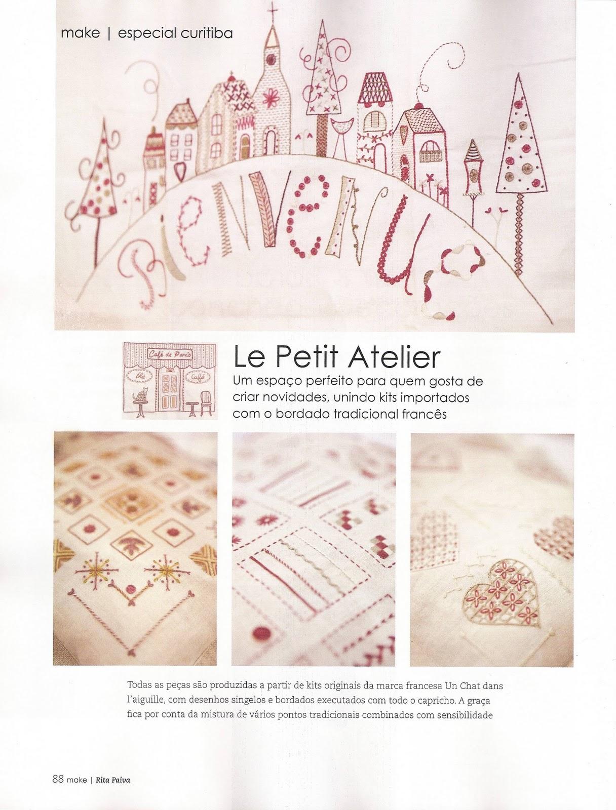 Le petit atelier florian polis revista make for Le petit atelier