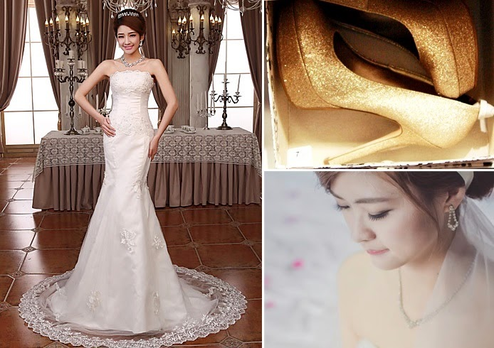 wedding day budget shoes makeup