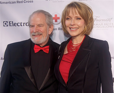 Stephen Jaffe and his wife the always beautiful Susan Blakely