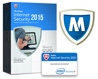 McAfee Internet Security 2015 Crack With Serial Key Full Version Free Download