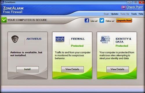 تحميل برنامج الحماية ZoneAlarm Free Firewall 2015