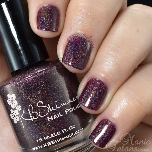 KBShimmer Fig-Get About It Swatch