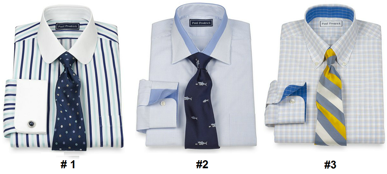 paul fredrick spring 2014 launch top pick dress shirts and ties