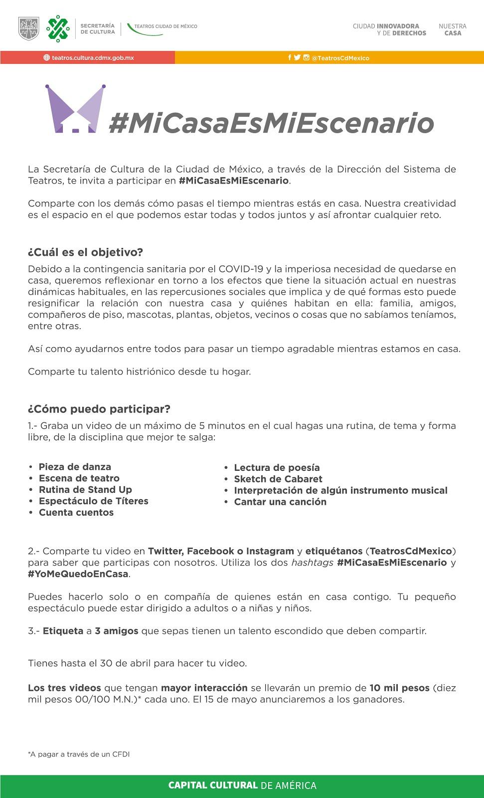 #MiCasaEsMiEscenario