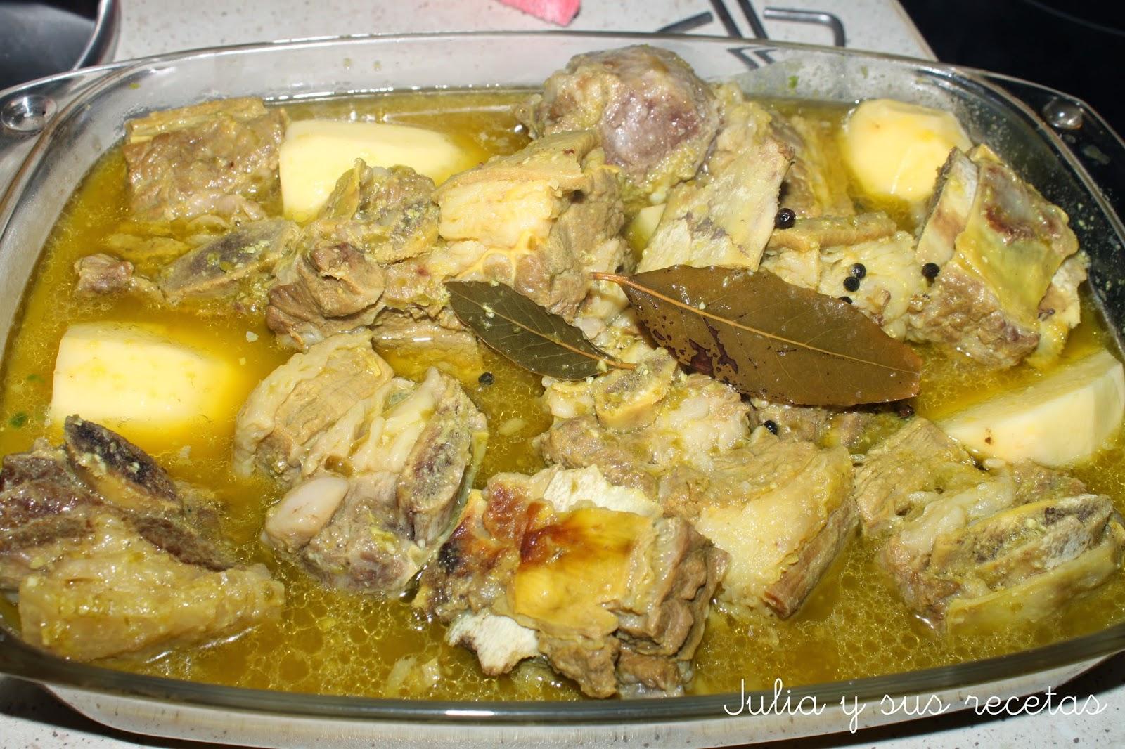 Julia y sus recetas falda de ternera al horno for Cocinar solomillo ternera