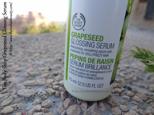 tbs grapeseed glossing serum review