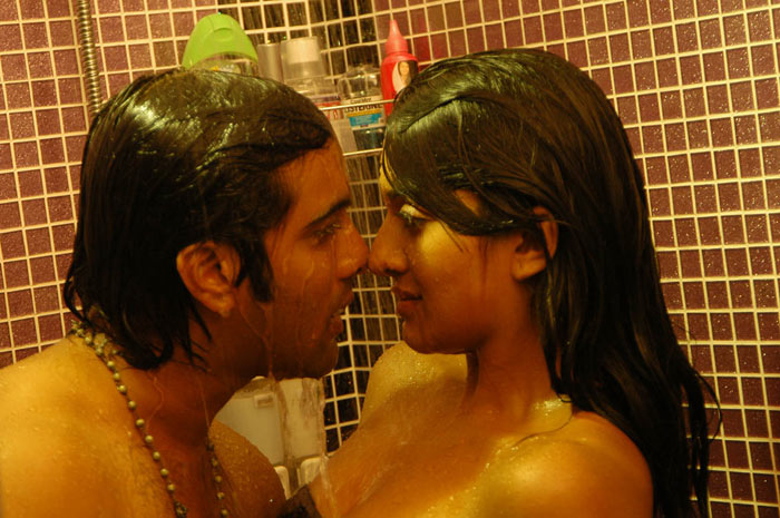 Vimala raman wet in bath towel making love with lover for Bathroom scenes photos