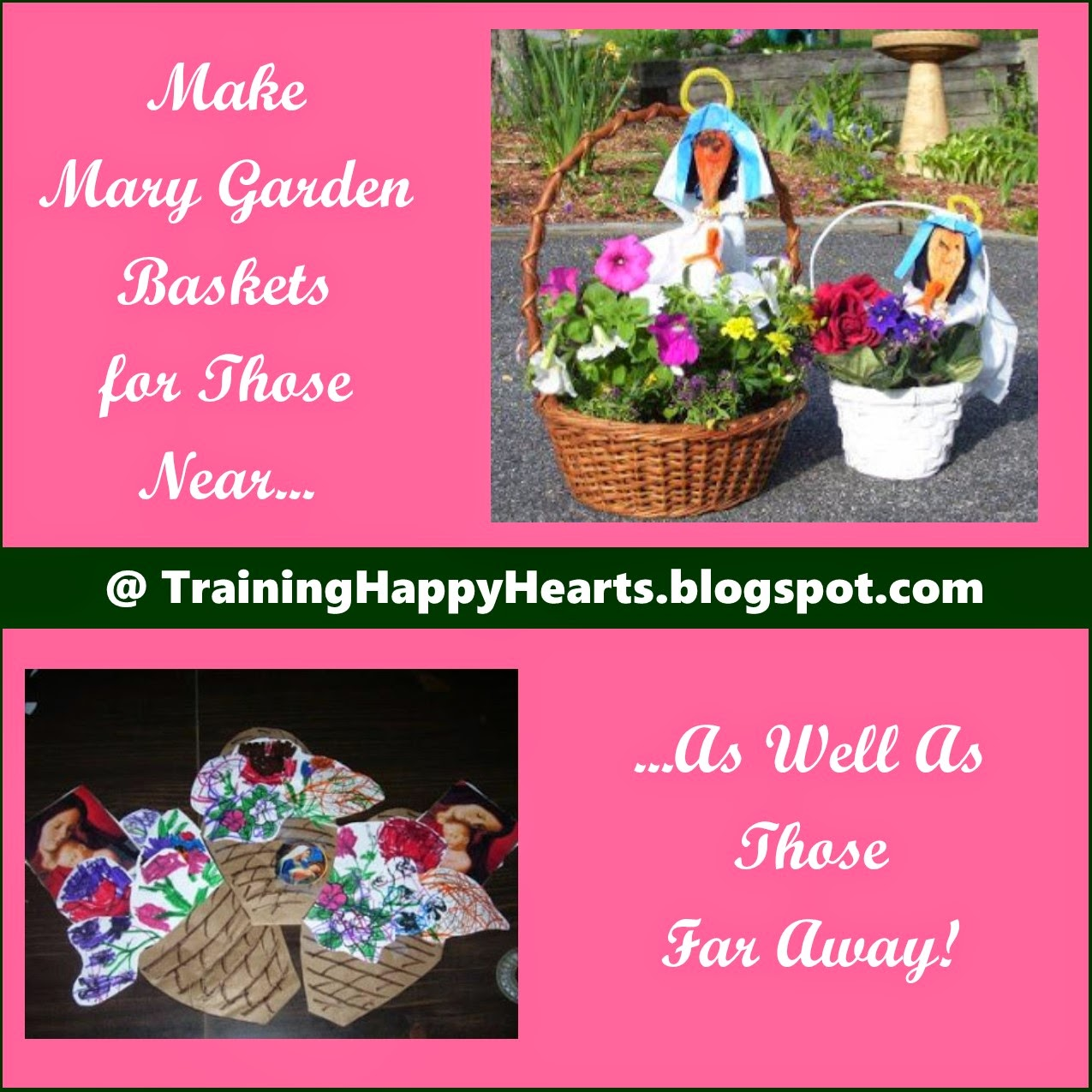 Training Happy Hearts: Works for Me Wednesday: Mother\'s Day Mary ...