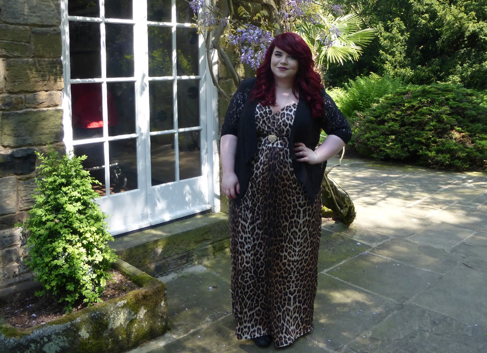 Yours Clothing Leopard Print Maxi Dress
