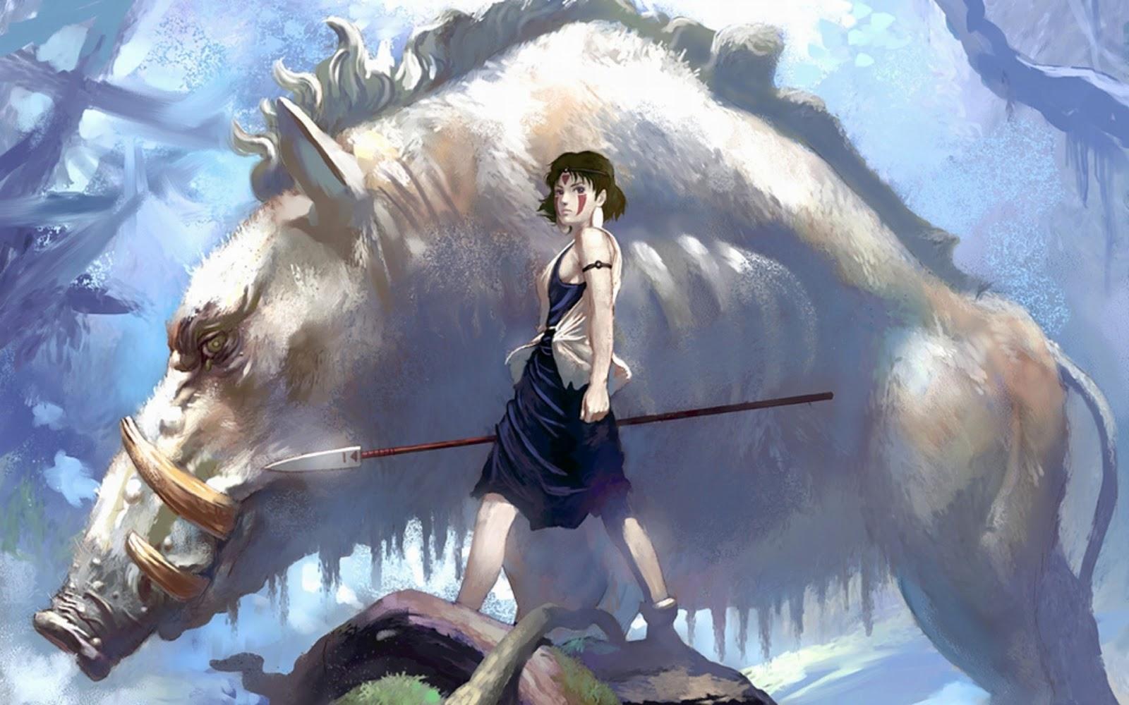 Anime Wallpapers: Princess Mononoke (Wallpaper)