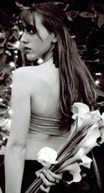 Daniela Camaiora en sesión de foto