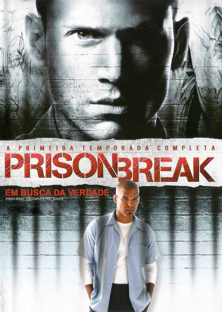 Prison Break 1ª Temporada Torrent - BluRay 720p/1080p Dual Áudio