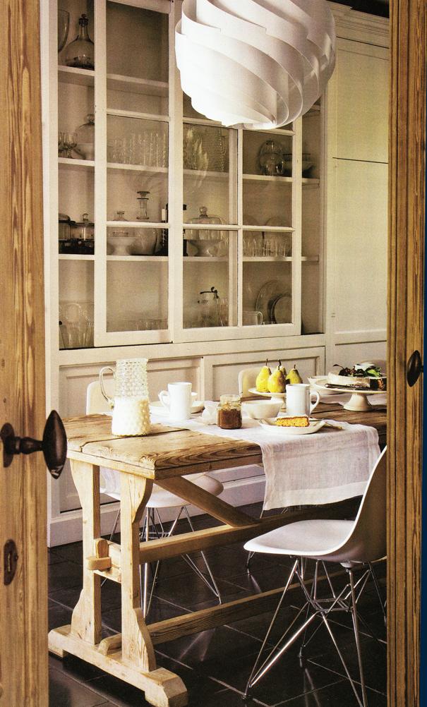 eclecchic cocina rustica moderna