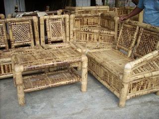 lincak bambu