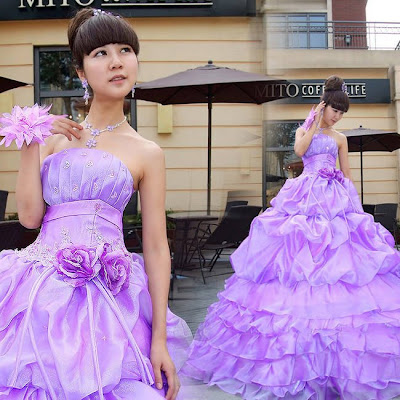 Popular-purple-wedding-dress