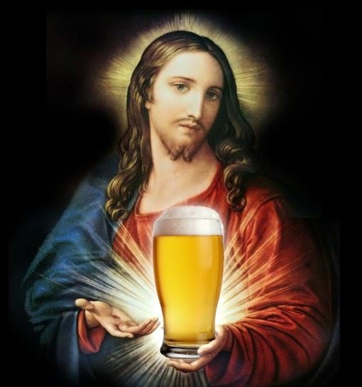 Jesus likes beer.