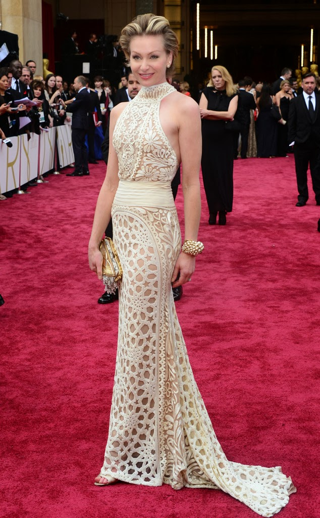 academy awards, 2014, best dressed, worst dressed, red carpet, arrivals, oscars, portia de rossi, naeem khan