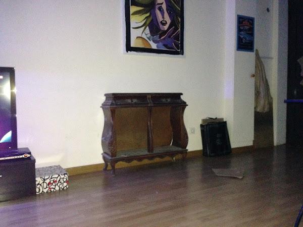 Pintar mueble antiguo hacer bricolaje es - Como pintar un mueble viejo ...