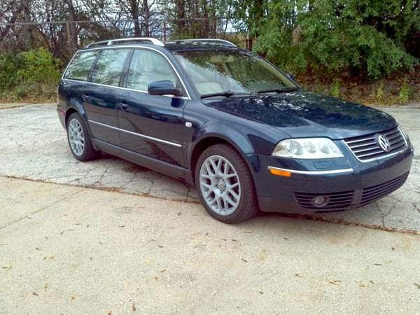Does Volkswagen Own Bmw >> Daily Turismo: 10k: Stick-up: 2002 Volkswagen Passat B5.5 W8 4Motion