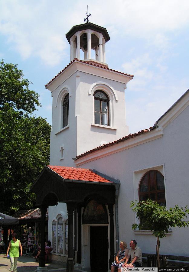 Храм в парке, Созополь (Болгария) | The Temple in the Park, Sozopol (Bulgaria)