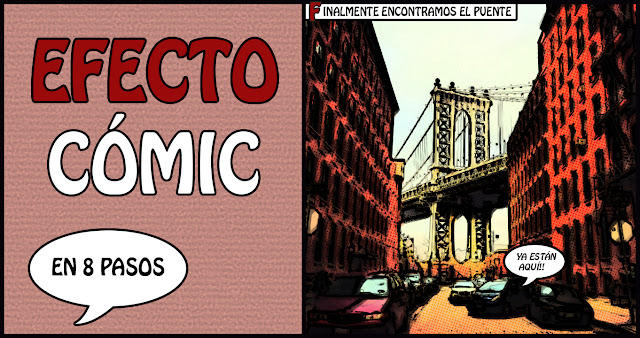 Tutorial Efecto Cómic Photoshop