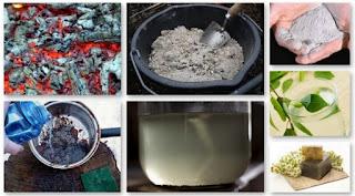 как готовят щелок