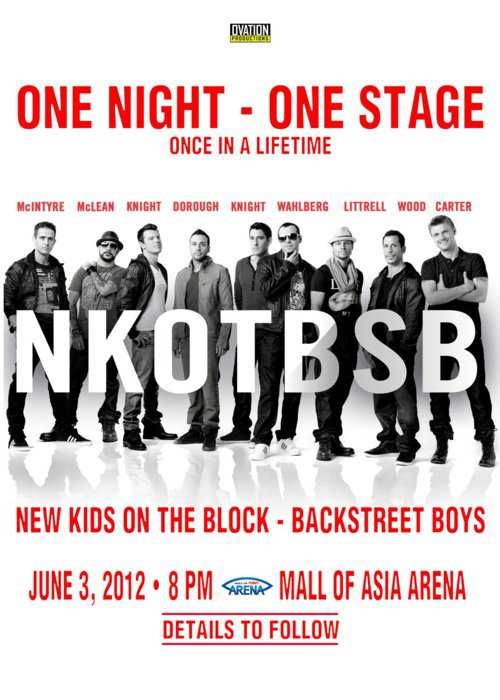 NKOTBSB LIVE in Manila 2012, SM Mall of Asia Arena