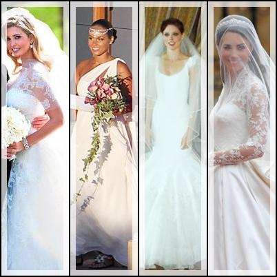 Ivanka Trump Wedding Gown Images & Pictures - Becuo