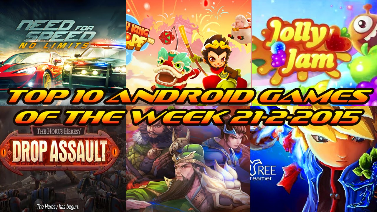 TOP 10 BEST NEW ANDROID GAMES OF THE WEEK - 21st February 2015