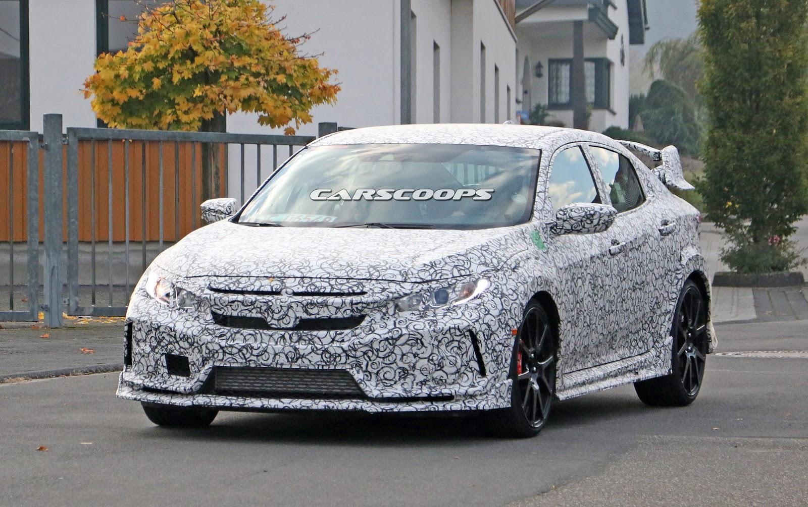 This Is Honda's Next-Gen 2017 Civic Type-R 5-Door Hatch That's Coming To U.S. - carscoops.com
