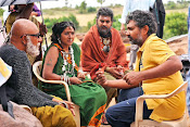 Baahubali on location Working stills-thumbnail-7