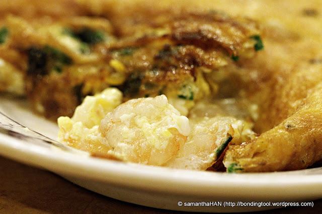 Prawn-Omelet