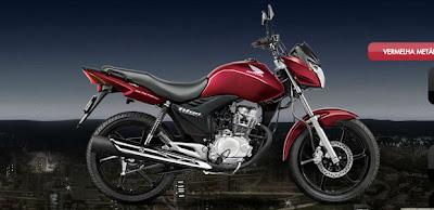 Cg 150 vermelha 2013