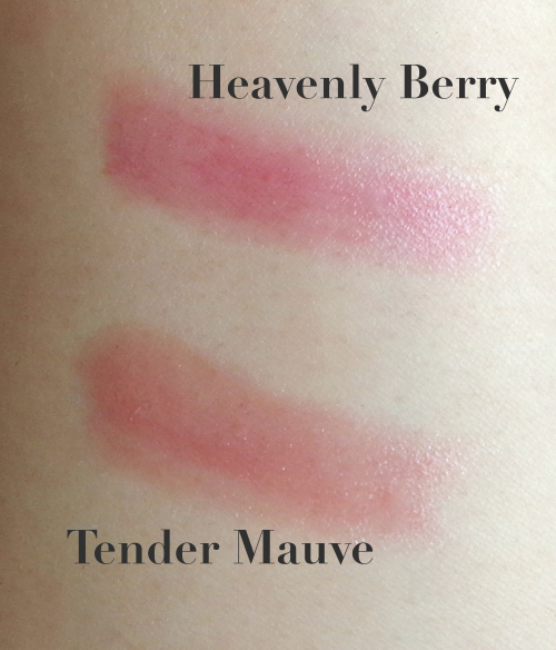 L'Oreal Le Balm Heavenly Berry Tender Mauve Swatches