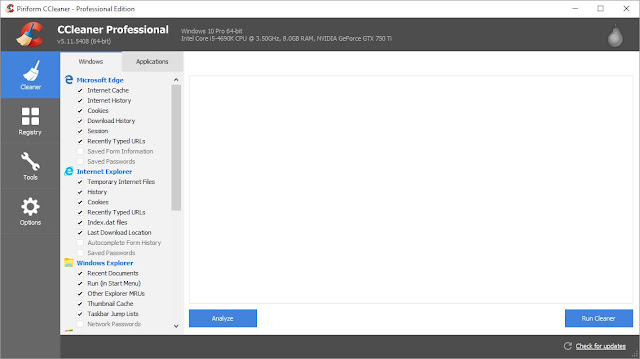 Download CCleaner 5.11.5408 All Edition Repack