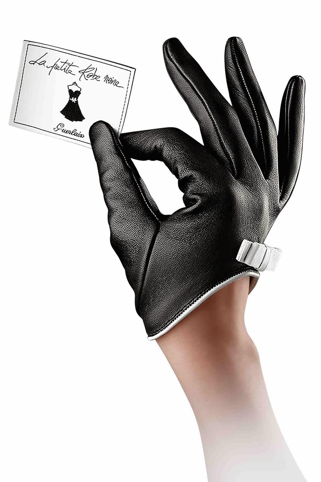Miss glitzy les gants parfumes d 39 agnelle et guerlain - Petite robe noire guerlain ...