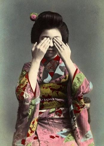 Vintage Kimono #vintage #kimono #japanese