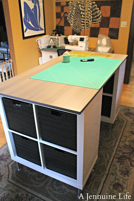 Countertop Height Desk : Someday Crafts: Countertop Height Craft Table!