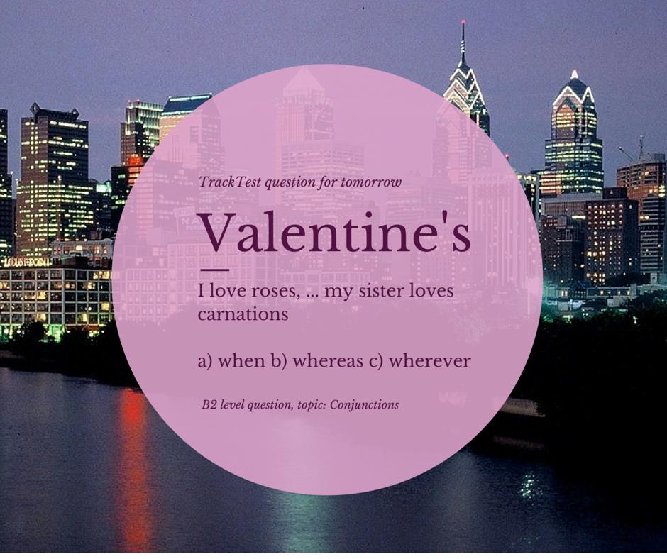 Valentine's grammar
