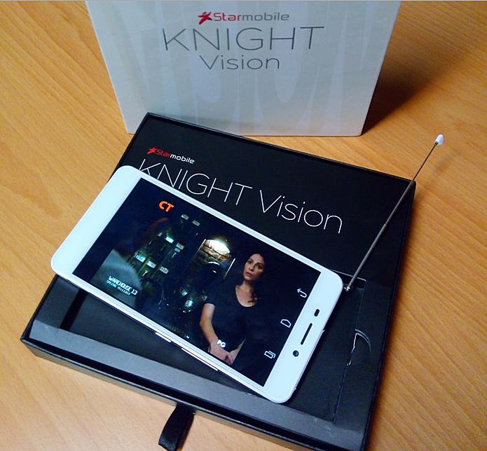 Starmobile Kight Vision, DTV Smartphone