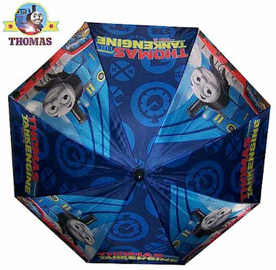 Make showery weather days thrilling with sweet childrens Thomas the tank engine and friends umbrella