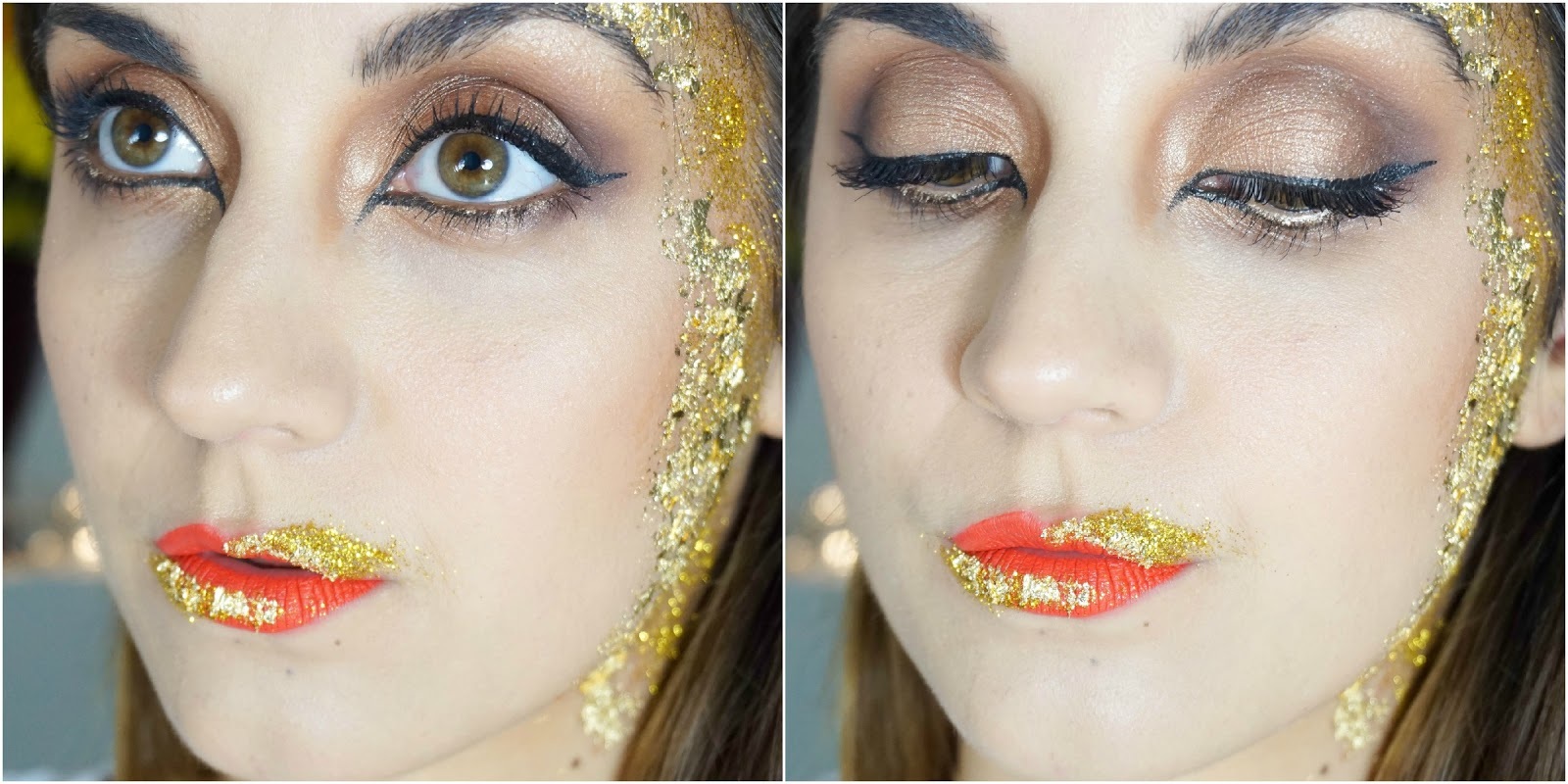 Greek Goddess Halloween Makeup Look