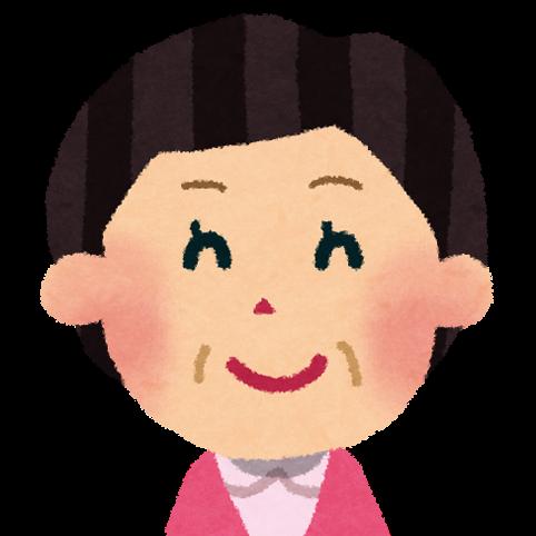 おばさんの顔のアイコン: 無料 ... : こども 地図 : すべての講義