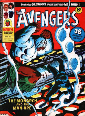 Marvel UK Avengers #90, Man-Ape