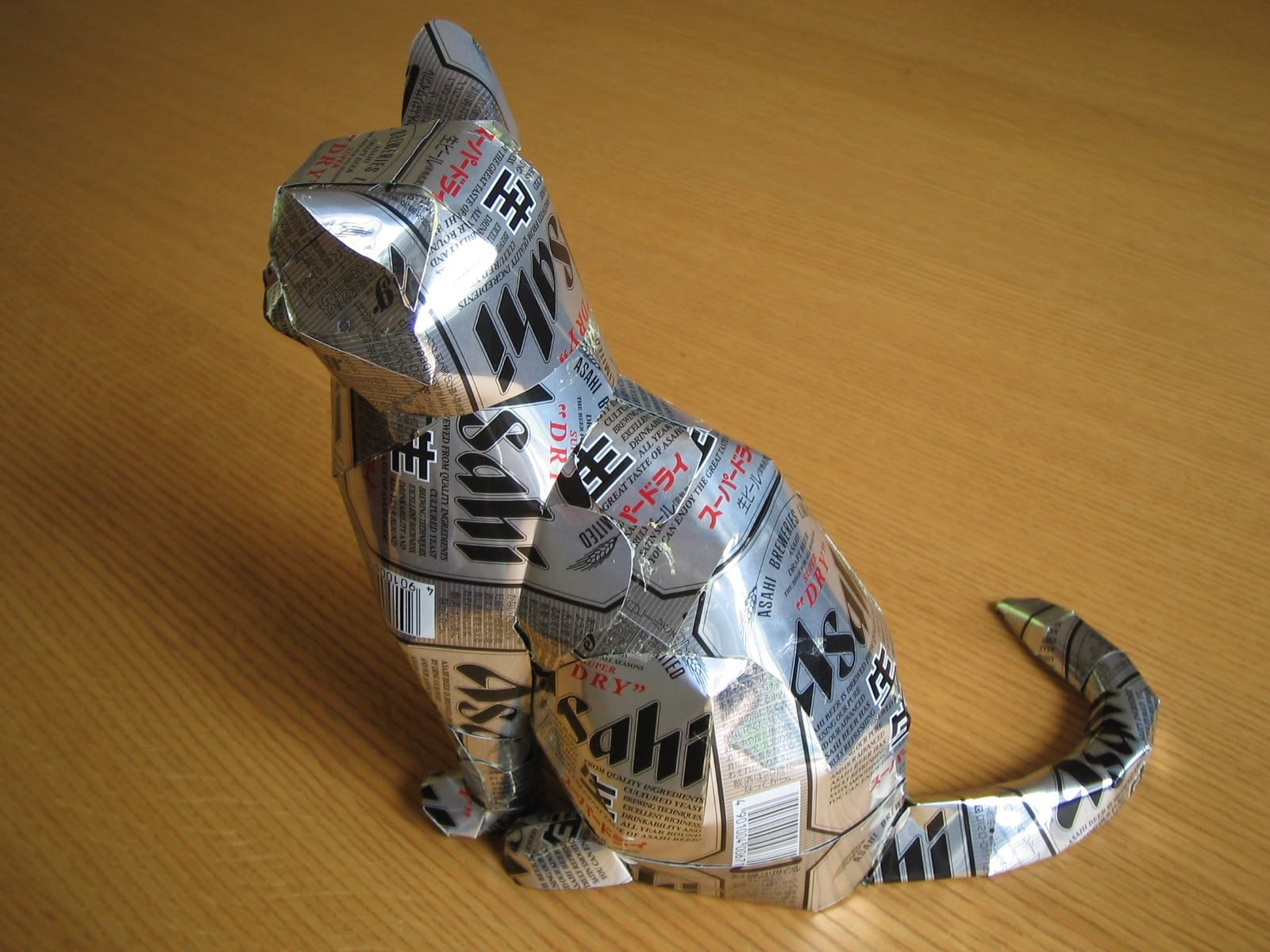 The art of up cycling upcycle ideas to sell made from for Aluminum can decorations