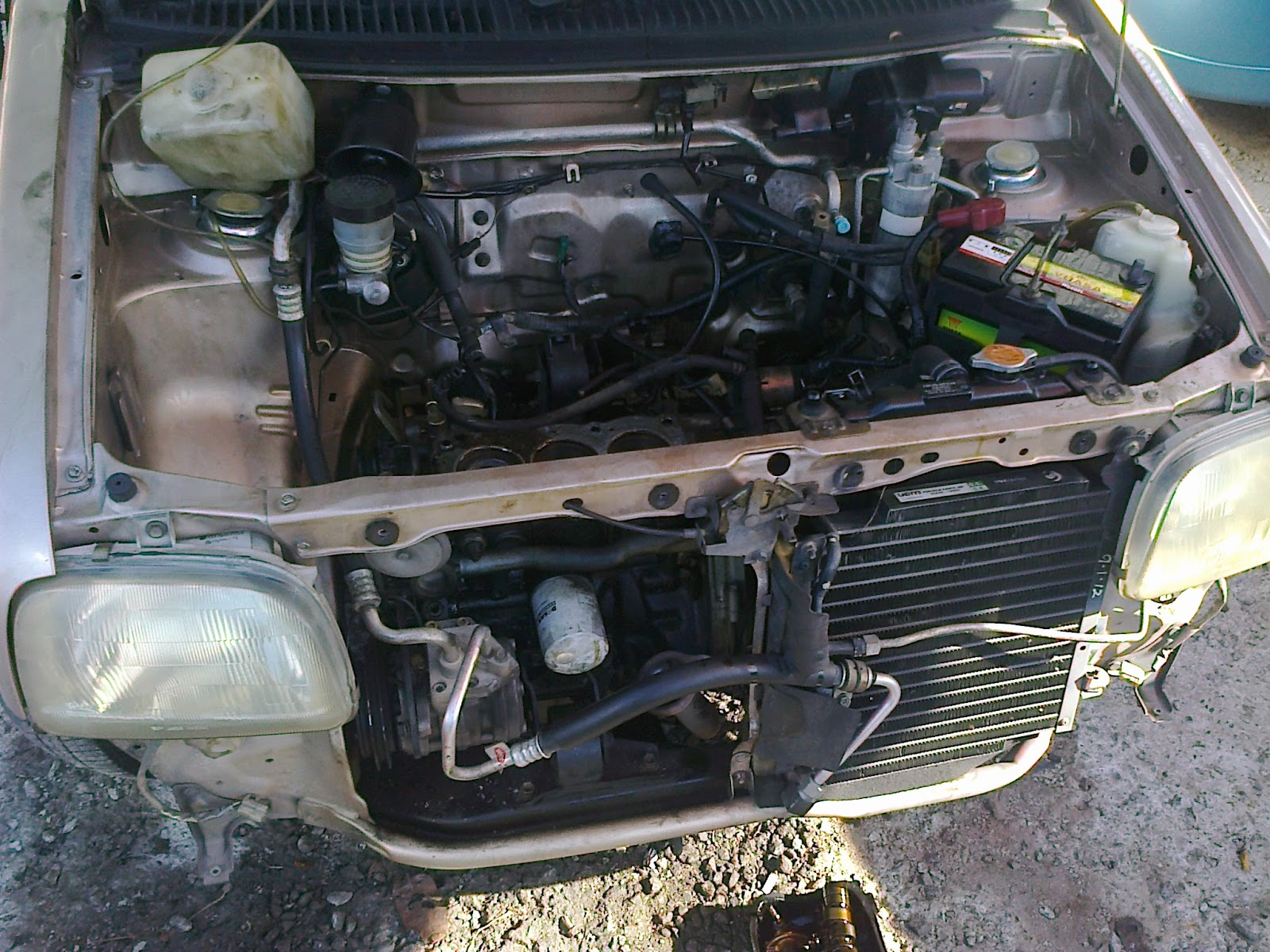 p44 autoworks kancil top overhaul