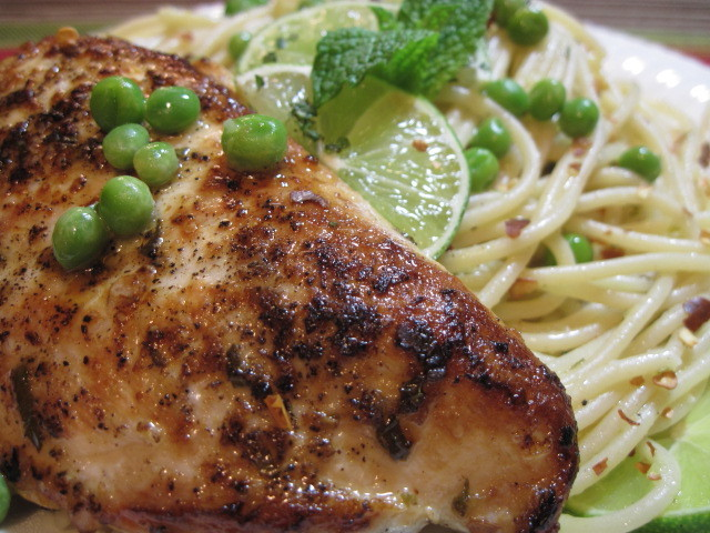 Mojito Chicken and Spaghetti Recipe